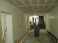 Ground Floor--Looking north from south end of corridor - March 30, 2011