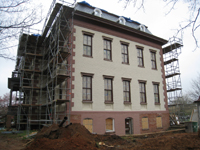 Elevation--East side with final paint - April 9, 2011