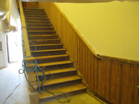 First Floor--Main staircase - April 20, 2011