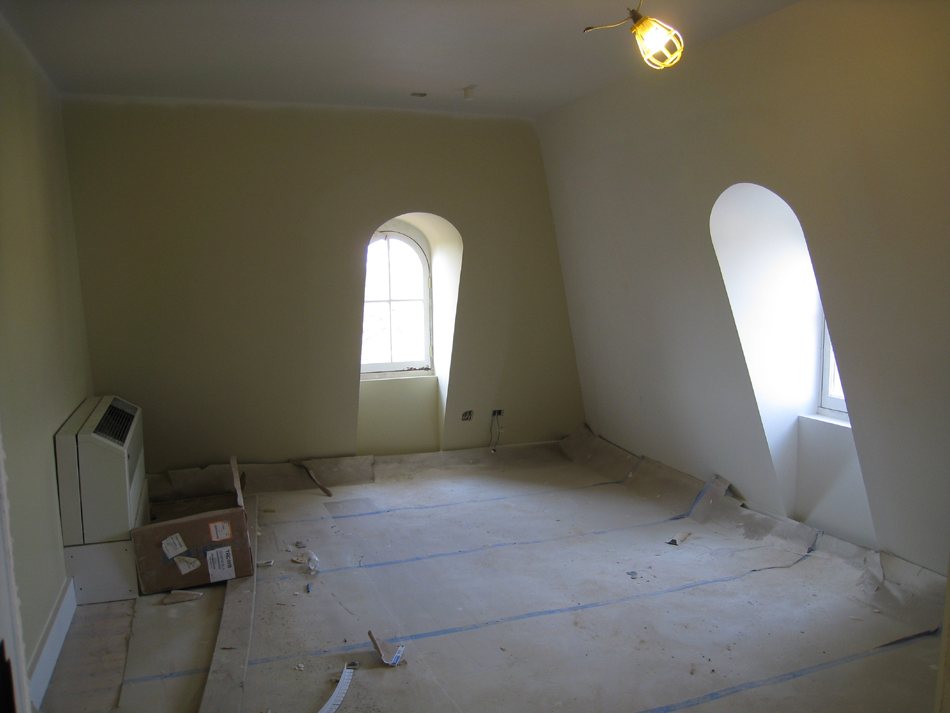 Third Floor--South west corner room - April 20, 2011