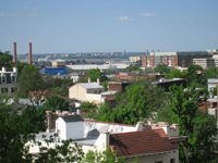 Roof--View of Potomac and Alexandria from Widow's Walk - April 29, 2011