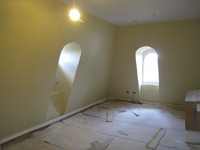 Third Floor--Northwest corner room - April 29, 2011