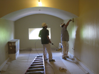 Third Floor--South central room being painted - April 29, 2011