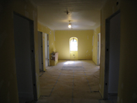 Third Floor--Corridor looking to east - April 29, 2011