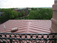 Roof--Looking east from Widow's Walk - April 29, 2011