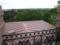 Roof--Looking southeast from Widow's Walk - April 29, 2011