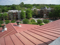 Roof--Looking north from Widow's Walk - April 29, 2011