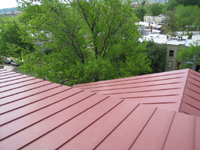 Roof--Looking south east from Widow's Walk - April 29, 2011