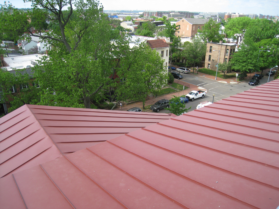 Roof--Looking south west from Widow's Walk - April 29, 2011