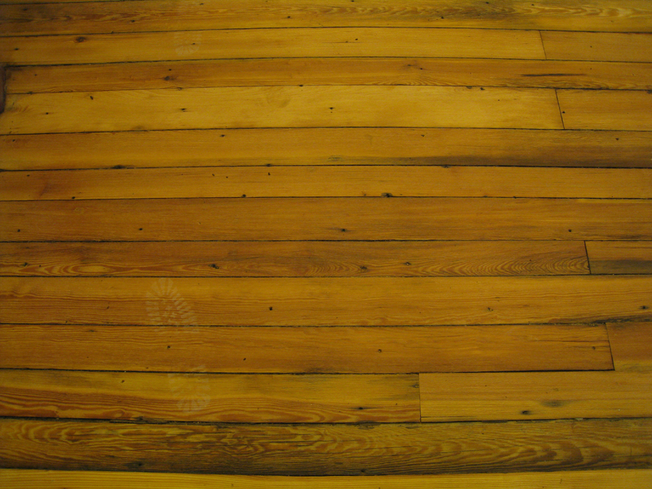 Second Floor--Refinished floor, main landing, detail - May 11, 2011