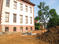 Grounds--West side showing new main entrance - May 12, 2011