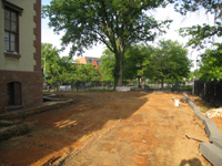 Grounds--South side looking east - May 12, 2011