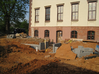 Grounds--West side, new main entrance - May 12, 2011