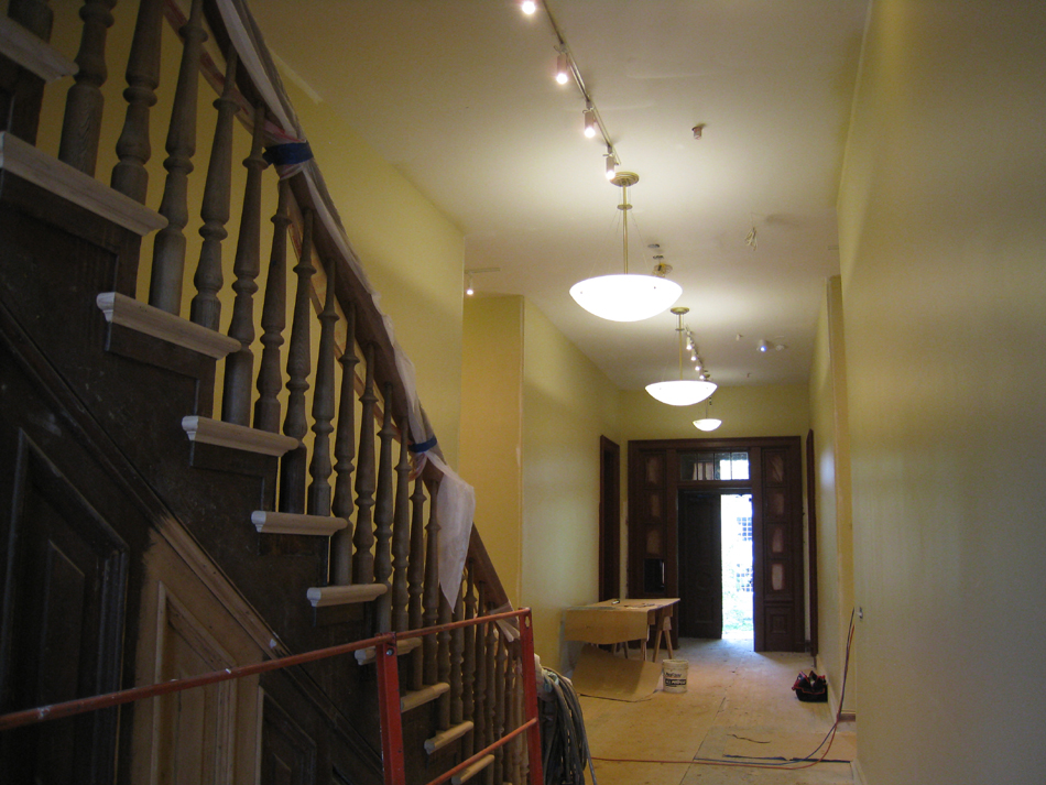 First Floor--Looking south from north entrance - May 23, 2011