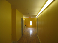 Third Floor--Main corridor looking east - May 23, 2011