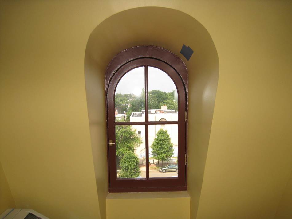 Third Floor--West corridor window—finished - May 23, 2011