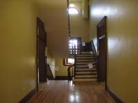 Second Floor--Looking north at main staircase - June 17, 2011