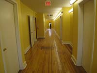 Third Floor--Main corridor looking east from west end - June 17, 2011