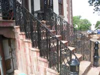 Elevation--North side showing newly restored and installed ironwork - June 17, 2011