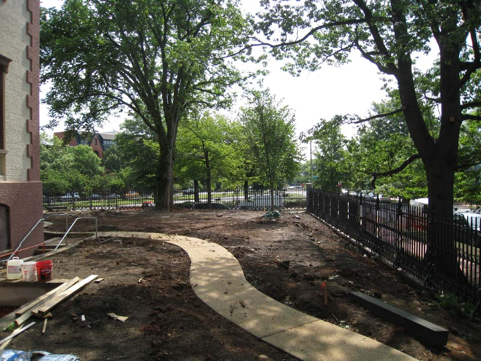 Grounds--South side looking east - June 17, 2011