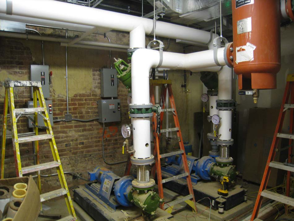 Ground Floor--Mechanical room - June 17, 2011