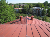 Roof--View to the north from the roof - June 29, 2011