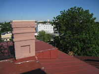 Roof--Looking west from the roof - June 29, 2011