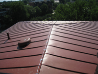 Roof--Looking east on the roof - June 29, 2011