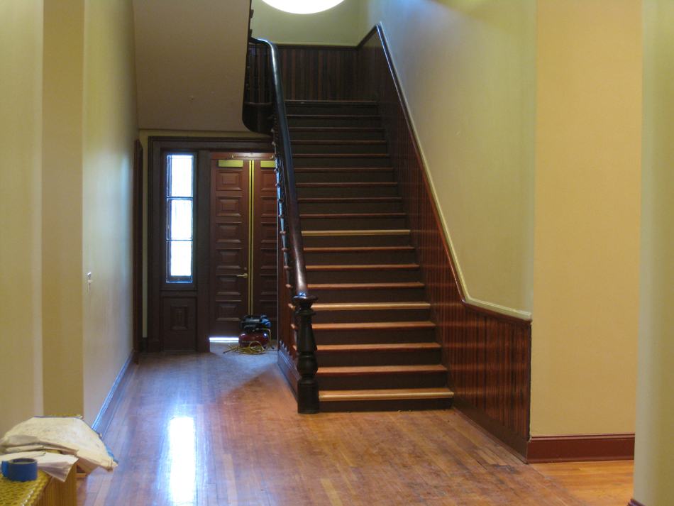 First Floor--Finished Rooms—Staircase - July 18, 2011