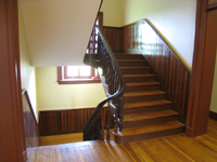 Second Floor--Main staircase - July 18, 2011